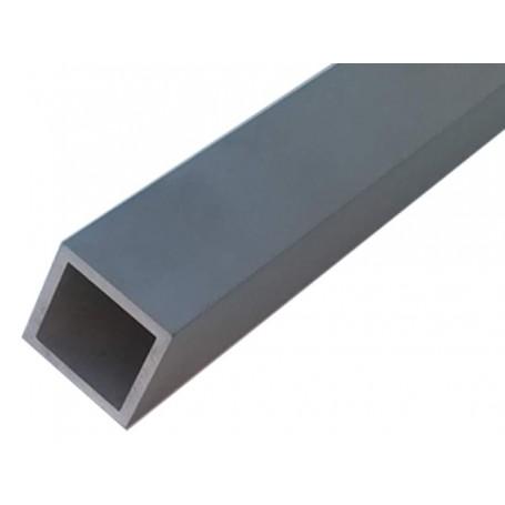 Tube carré aluminium 80 x 80 x 2 mm - Longueur 3 mètres