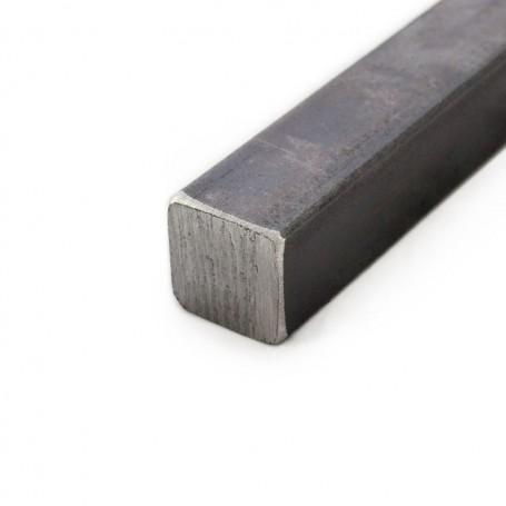 Barre Fer carré plein 10 x 10 mm 3 mètres  - Découpe sur mesure offerte
