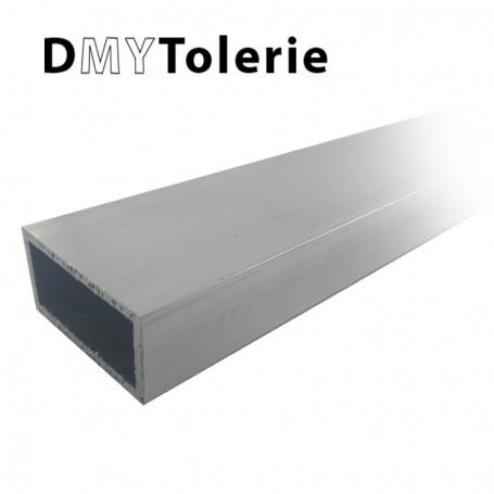 Tube rectangulaire aluminium 100 x 50 x 2 mm -Longueur 2 mètres
