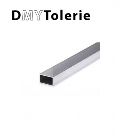 Tube rectangulaire inox 304 L - 60 x 30 x 2 mm - 1 mètre