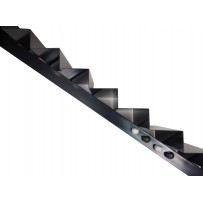 Escalier colimaçon et droit