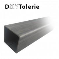 Tous les tubes carrés en aluminium, en acier, en inox 304 L et 316 L jusqu'à 3 mètres de longueur
